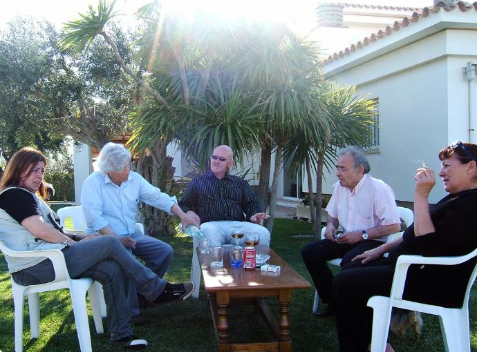 Wolfgang Harms in Spanien, Prof. Joaquim Roglan,