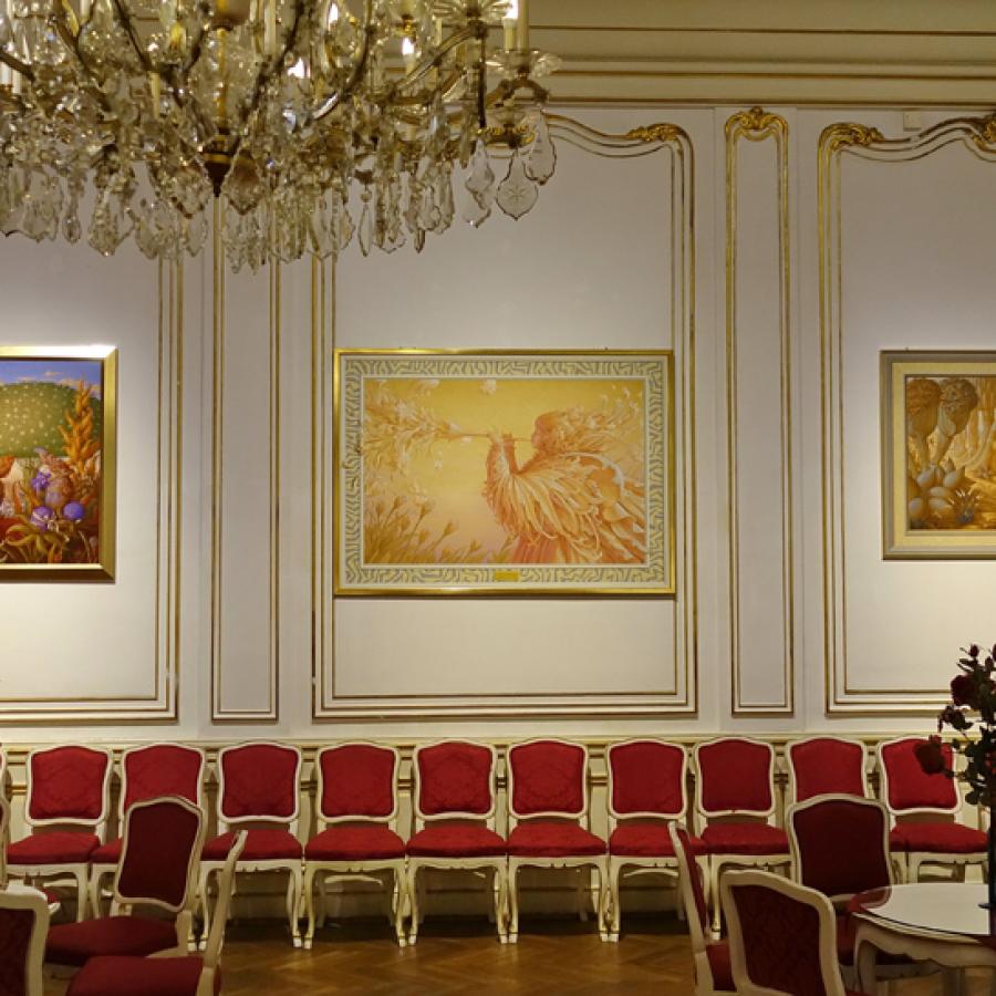Phantastenmuseum Wien, Ausstellung Wolfgang Harms