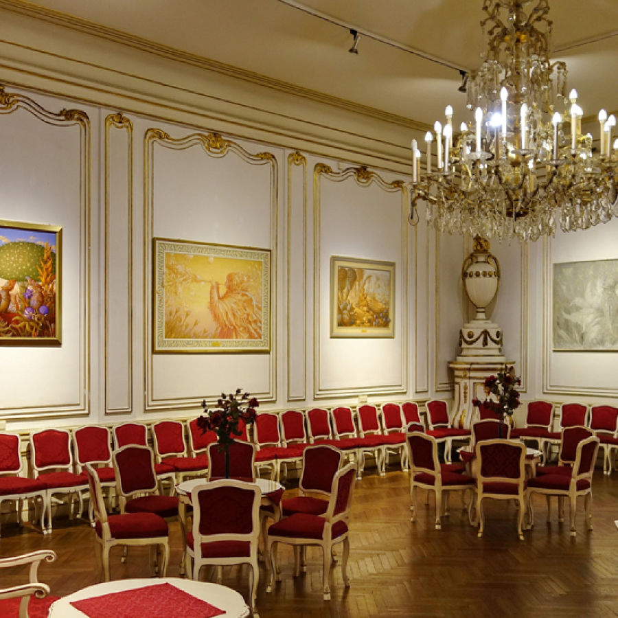 Phantastenmuseum Wien, Ausstellung Harms Wolfgang